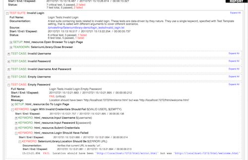 Robot Framework Non Existing Setting Library
